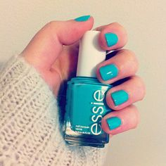 where's my chauffeur by essie... love this bright pop of color! / color me caitie