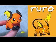 TUTO FIMO | Raichu (de Pokémon) - YouTube