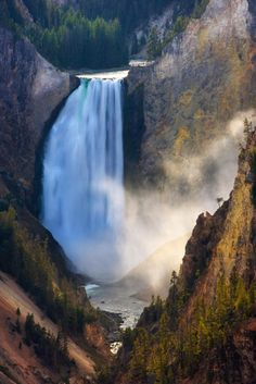 Lower Falls of the Grand Canyon of the Yellowstone River