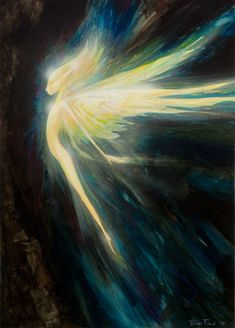 Sylphs are said to be the elementals who dwell in the East.  Illustration by the wonderful Brian Froud.