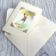 Vintage 1920s rare game card greetings card choose a