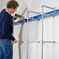 How to make pipe shelving - Yahoo7