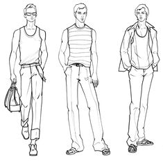 Menswear Fashion Illustration Template, Fashion Sketch Template, Man Illustration, Illustrations, Dress Design Sketches, Fashion Design Drawings, Fashion Sketches, Classy Fashion, Fashion Fashion