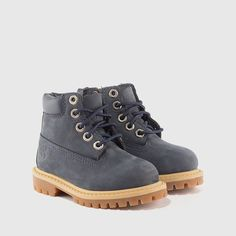 2f134d021b7 Timberland - Toddler 6 Inch Waterproof Nubuck Boot (Navy) - Infant - Sale -