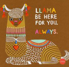 Cute Llama, Llama Alpaca, Lots Of Cats, Vintage Greeting Cards, True Stories, Hand Lettering, Ink, Studio, Drawings