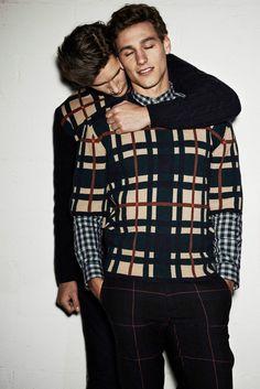 Go to Instagram --> @GarotoRabiscado fashion, fashion, style, model, man, modelo masculino, homem, boy, estilo, vida de modelo, sexy,  gay MSGM F/W 14.15 Campaign by Giampaolo Sgura