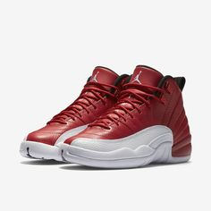 3323aab858a Here Are The Official Images Of The Air Jordan 12 Gym Red This could be  found at Nike outlet store