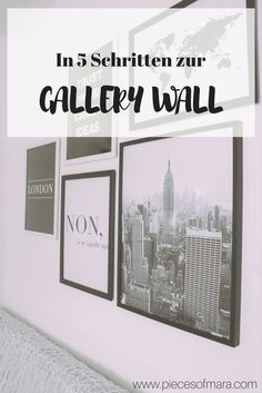 How to: Gallery Wall mit Posterlounge  Bilderwand, Gallery Wall, Gallery, Galerie, Bilder, Poster, Posterwand, How to