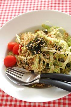 「キャベツとわかめのヘルシーサラダ」のレシピ by エリオットゆかりさん | 料理レシピブログサイト タベラッテ