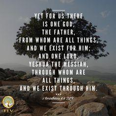 1 Corinthians 8:6! #tlvbible
