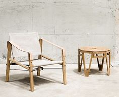 Bamboo furniture. Nomad chair - We Do Wood.