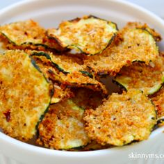 Oven Baked Zucchini Chips - can add herbs/spices; tuck in salads, soups, great with appetizer plates