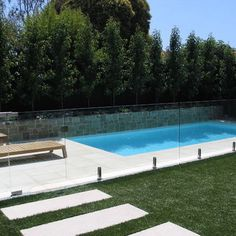 Designer Glass Pool Fencing Pool fence outside living pinterest fences swimming pools and cool pool fence designs glass and stone pool fence workwithnaturefo