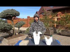 How to make swan by fb:ployandpoom (ผ้าใยบัว) วิธีทำหงษ์ผ้าใยบัว - YouTube