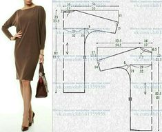 """Blusa manga sino com abertura em """"V"""" Doll Dress Patterns, Blouse Patterns, Clothing Patterns, Sewing Collars, Plus Size Sewing, Sewing Blouses, Embroidery On Clothes, Schneider, Pants Pattern"""