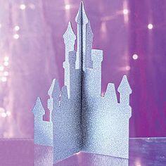 Glitter Castle Centerpiece