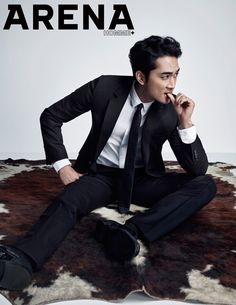 The June edition of Arena Homme Plus will have a flavor of YUM as Song Seung Heon, who's extra delectable dressed in Dior Homme suits, graces its pages. Song Seung Heon, Jung So Min, Suits Korean, Korea University, Handsome Korean Actors, Korean Entertainment, Kdrama Actors, Asian Actors, Asian Celebrities