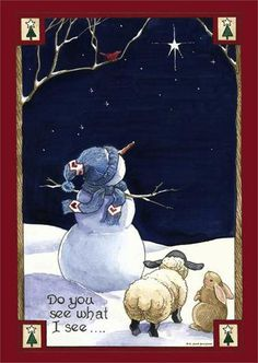 Do You See What I See Snowman Garden Flag Seasonal Christmas Winter x Christmas Snowman, Christmas Holidays, Christmas Decorations, Christmas Ornaments, Merry Christmas, Christmas Garden, Christmas Pictures, All Things Christmas, Snowmen Pictures