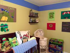 14 best teenage mutant ninja turtle baby nursery decor images baby rh pinterest com