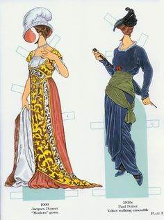 French Fashion Designers 1900-1950   Gabi's Paper Dolls French Fashion Designers 1900-1950   Gabi's Paper Dolls .  More from this series later on the board. They use the same dolls.