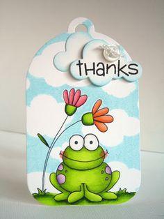 jane's doodles sweet froggy