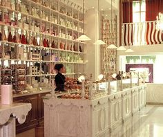 Beautiful macaroon shop