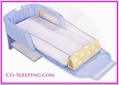Those who want to co sleep with baby and do not want to hire a nurse should seriously consider The First Years Close and Secure Sleeper. This co sleeper will help you to co sleep with your baby even if you are heavy sleeper. It is especially designed to be light weight so that you don't have to use extra energy in your bed. If you buy this co sleeper, then you are going to save a lot of money and at the same time, securing your baby from any type of potential dangers of co sleeping.