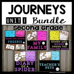 Journeys Second Grade Bundle Unit 1 Supplemental materials that are aligned with the Journeys Reading Series. This bundle includes all 5 stories from Unit 1. Each of these are sold separately, so please do not purchase those, if you buy this bundle.