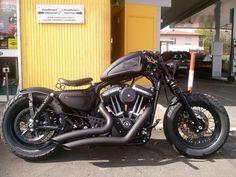 Harley Davidson Bobber Forty Eight Sportster Arcadia #harleydavidsonbobbersfortyeight #harleydavidsonsportsterfortyeight #HarleyDavidsonCrafts
