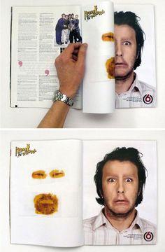 30 exemples de publicités créatives en double page de magazine ! | Dans Ta Pub