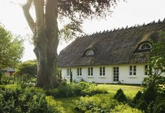 Traditional Danish farmhouse.