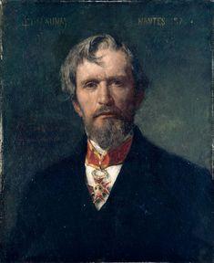 Jules-Elie Delaunay - Portrait of Alphée Dubois