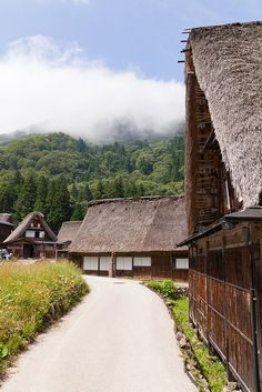 #Japan old folk house