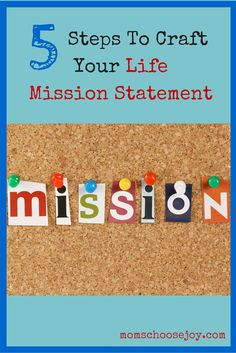 Are you living your life with intention, meaning, and JOY? When I realized that I was getting lost in the everyday tasks of my life without experiencing true life-giving JOY, I was determined to take back my life and start CHOOSING JOY. Creating a LIFE MISSION STATEMENT was the FIRST STEP I took to put me on this path.