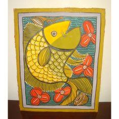 Pattachitra folk paintings - Fish