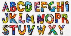 Romero Britto Letter Each Alphabet Gift Boxed Britto Disney, Picture Letters, Graffiti Painting, Alphabet And Numbers, Alphabet Letters, Name Art, Arte Pop, Art Plastique, Elementary Art