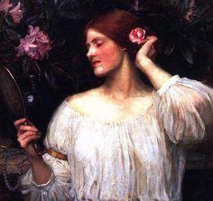 John William Waterhouse: Vanity - 1910