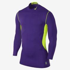 Nike Regular Size XL Athletic Shirts & Tops for Men Nike Pro Combat, Nike Pros, Mens Fitness, Wetsuit, Nike Men, Athletic, Purple, Swimwear, Shirts