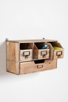 $69 Reclaimed Wood Organizer