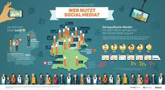 So unterschiedlich nutzen Deutsche Social Media › absatzwirtschaft Silver Surfer, Social Media, Rhineland Palatinate, Social Networks, Social Media Tips
