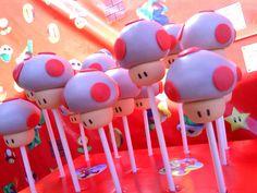 Dulcetopía: Cake Pops setas Mario Bros
