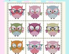 Hooties In Love Mini Collection Cross Stitch PDF by PinoyStitch