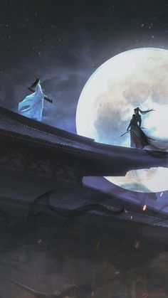 Fantasy Art Landscapes, Fantasy Landscape, Samurai Art, Scenery Wallpaper, Anime Scenery, Animes Wallpapers, Chinese Art, Asian Art, Japanese Art