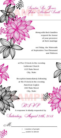 SealNSend Wedding Invitation Design 1217 by EKGraphicDesigns, $100.00