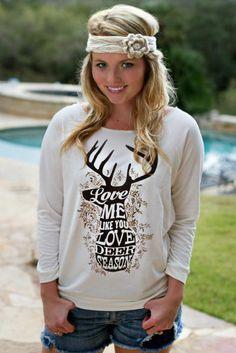 "ATX Mafia Long sleeve ""Deer Season"" T-Shirt"