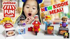 "2018 ""Jollibee Fun Store"" - Jollibee Kiddie Meal Toys Unboxing"