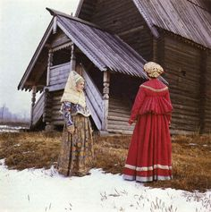 Sundress and Shugay - upper festive wear women of northern Russia. The end of the beginning of XIX century XVIII. Kostroma State Historical and Architectural Museum-Reserve.