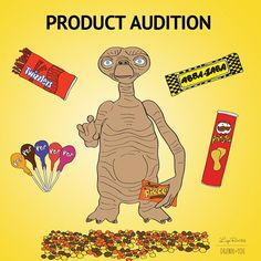 """Sales of Reese's Pieces increased 60% after they were placed in E.T."" #ET #80smovies #candy #halloween #reeses #chocolate"