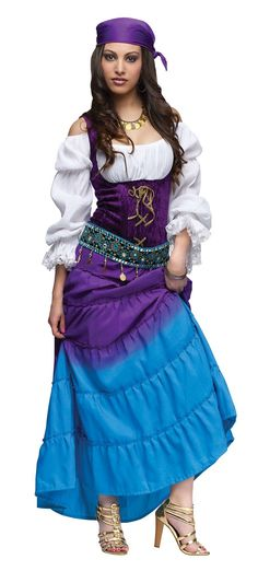 Halloween Costume Inspiration Board on Pinterest | Gypsy Costume ...