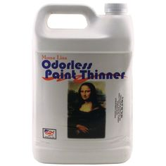 Paint Thinner: You can go all out and get the Speedball Art Products Mona Lisa 1-Gallon Odorless Paint Thinner. The lack of door helps work in smaller studios and it keeps well for a long time, if well capped.